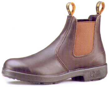 T Boots, Claret Kip, Pull on Workboots - less than 1/2 price!!